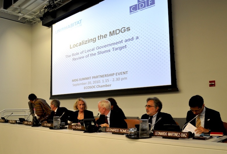 localizing MDGs